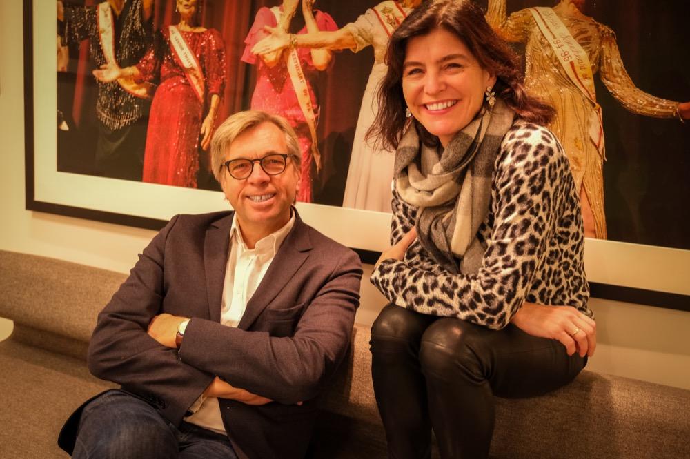 Geir Terje Ruud og Kjersti Løken Stavrum